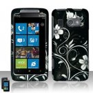 Hard Plastic Rubber Feel Design Case for HTC Surround - Midnight Garden