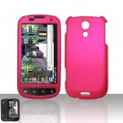 Hard Plastic Rubber Feel Case for Samsung Epic 4G - Hot Pink