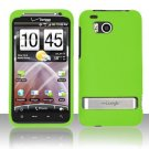 Hard Plastic Rubber Feel Case for HTC Thunderbolt 4G (Verizon) - Green