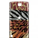 Hard Plastic Design Cover Case for HTC Pure Touch Diamond II - Mixed Animal