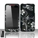 Hard Plastic Rubber Feel Design Case for HTC Merge 6325 - Midnight Garden