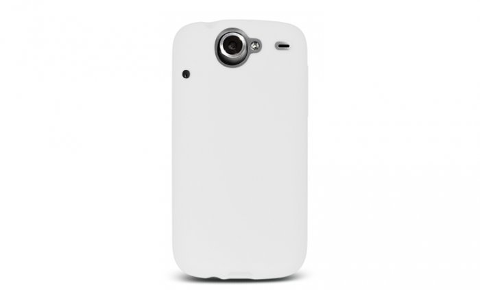 Soft Silicone Skin Cover Case for HTC Google Nexus One - Clear