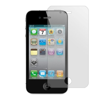 3-Pack Clear Screen Protectors for Apple iPhone 4/4S