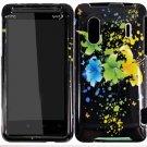 Hard Plastic Design Cover Case for HTC Evo Design 4G/Kingdom - Magical Flowers