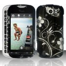 Hard Plastic Rubber Feel Design Case for HTC Mytouch Slide 4G - Midnight Garden