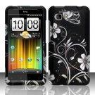 Hard Plastic Rubber Feel Design Case for HTC Vivid/Holiday - Midnight Garden