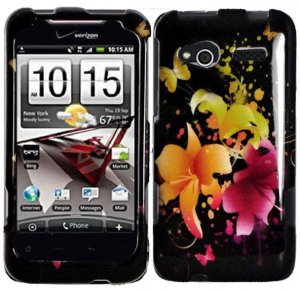 Hard Plastic Design Cover Case for HTC Radar 4G - Heavenly Flowers