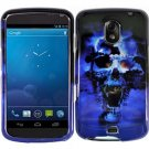 Hard Plastic Design Case for Samsung Galaxy Nexus CDMA i515/i9250 (Verizon/Sprint) - Blue Skull