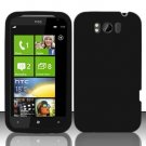 Soft Silicone Skin Cover Case for HTC Titan X310e - Black