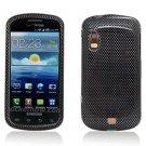 Hard Plastic Design Case for Samsung Stratosphere i405 - Carbon Fiber II