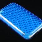 Crystal TPU Gel Diamond Skin Case for Apple iTouch 4 (4th Gen) - Blue