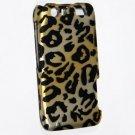 Hard Plastic Rubberized Design Case for Motorola Atrix 3 HD MB886 (AT&T) – Golden Cheetah