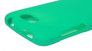 Hard Plastic 2-Piece Rubberized Snap On Cover Case for HTC One S/Ville (T-Mobile) - Turquoise