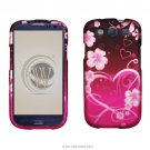 Hard Plastic Rubberized Design Case Cover for Samsung Galaxy S3 III – Lovely Heart