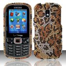 Hard Plastic Bling Design Case for Samsung Intensity 3 III SCH U485 (Verizon) - Golden Cheetah