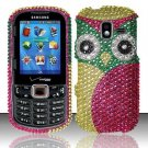 Hard Plastic Bling Design Case for Samsung Intensity 3 III SCH U485 (Verizon) - Owl Eyes