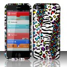 New Hard Plastic Rubberized Snap On Case Cover for Apple iPhone 5 – White Safari