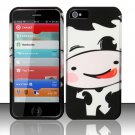 New Hard Plastic Rubberized Snap On Case Cover for Apple iPhone 5 – Silly Cow