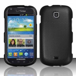 Hard Plastic Snap On Case Cover for Samsung Galaxy Stellar 4G i200 (Verizon) - Carbon Fiber