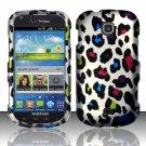 Hard Plastic Snap On Case Cover for Samsung Galaxy Stellar 4G i200 (Verizon) - Rainbow Leopard