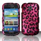 Hard Plastic Snap On Case Cover for Samsung Galaxy Stellar 4G i200 (Verizon) - Hot Pink Leopard