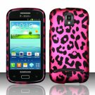 Hard Plastic Snap On Case Cover for Samsung Galaxy S Relay 4G T699 (T-Mobile) – Hot Pink Leopard