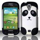 Hard Plastic Snap On Case Cover for Samsung Stratosphere 2 i415 (Verizon) - Cute Panda Bear