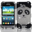 Hard Plastic Bling Case Cover for Samsung Galaxy Victory 4G LTE (Sprint) – Cute Panda Bear