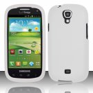 Hard Plastic Snap On Case Cover for Samsung Stratosphere 2 i415 (Verizon) - White