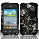 Hard Plastic Snap On Case Cover for Samsung Galaxy Rugby Pro i547 (AT&T) – Midnight Garden