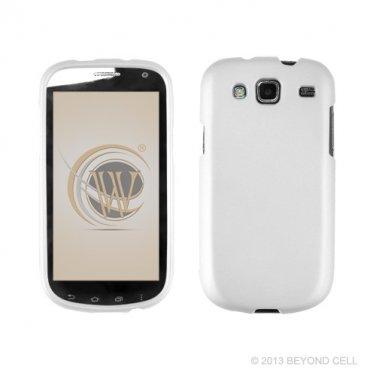 Hard Plastic Snap On Case Cover for Samsung Godiva i425 (Verizon) - White