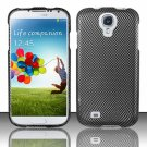Hard Plastic Rubberized Snap On Case Cover for Samsung Galaxy S4 IV i9500 – Carbon Fiber