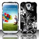 Hard Plastic Rubberized Snap On Case Cover for Samsung Galaxy S4 IV i9500 – Midnight Garden