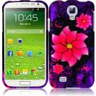 Hard Plastic Rubberized Snap On Case Cover for Samsung Galaxy S4 IV i9500 – Divine Flower