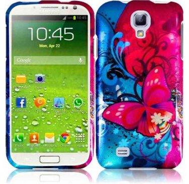 Hard Plastic Snap On Design Case Cover for Samsung Galaxy S4 IV i9500 � Butterfly Bliss