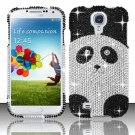 Hard Plastic Snap On Bling Case Cover for Samsung Galaxy S4 IV i9500 – Cute Panda Bear