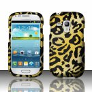 Hard Plastic Snap On Matte Case Cover for Samsung Galaxy Mini i8190 (AT&T) – Golden Cheetah