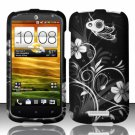 Hard Plastic Snap On Rubberized Design Case Cover for HTC One VX (AT&T) – Midnight Garden