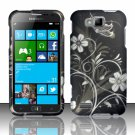Cell Phone Case Cover Hard Plastic Snap On for Samsung  ATIV S T899m (T-Mobile) - Midnight Garden