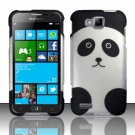 Cell Phone Case Cover Hard Plastic Snap On for Samsung  ATIV S T899m (T-Mobile) - Panda Bear