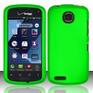 Cell Phone Case Cover Hard Plastic Snap On for Pantech Marauder ADR910L (Verizon) - Neon Green