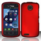 Cell Phone Case Cover Hard Plastic Snap On for Pantech Marauder ADR910L (Verizon) - Red