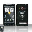 Hard Plastic Rubber Feel Design Full Case For HTC Evo 4G - Reaper