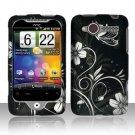 Hard Plastic Rubber Feel Design Case for HTC Wildfire 6225 - Midnight Garden