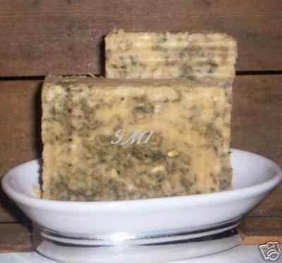 Cucumber Melon Green Tea - Handmade Shea Cocoa Butter Natural Soap - VEGAN
