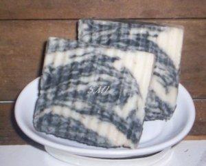 BAY RUM - VEGAN Shea Butter Coconut Olive Oil All Natural Bar Soap