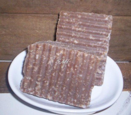 Chocolate Covered Cherries - Shea Butter Coconut Olive Oil All Natural Bar Soap