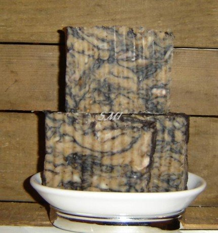 Natural Bar Soap 4 to 5 ounce Bar Patchouli Musk Shea Butter Olive Oil VEGAN 4MEN