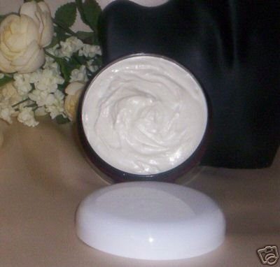 Amber Musk Organic Creamy Whipped Shea Body Butter Frosting 8 oz VEGAN Handmade