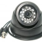 "1/3"" Sony CCD Dome Infrared Camera 3.6mm 24 LED CCTV"